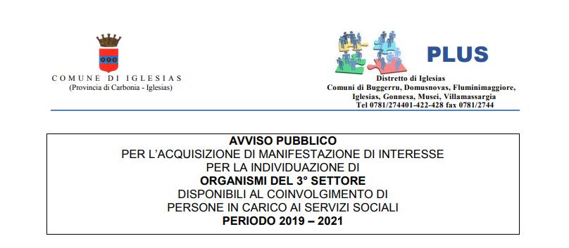 APRI - AVVISO PUBBLICO PER L'ACQUISIZIONE DI MANIFESTAZIONE DI INTERESSE