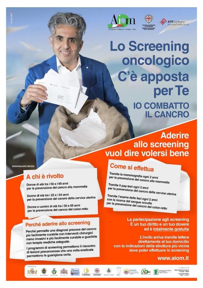 """Partecipa anche tu alla campagna di screening """"Io combatto il cancro"""""""
