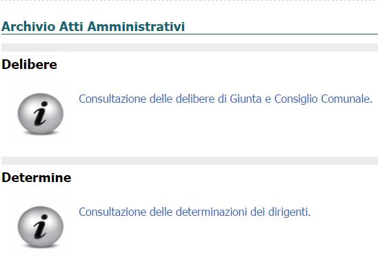 Archivio Atti Amministrativi